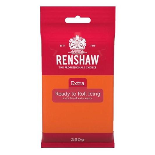Renshaw Extra Orange Icing 250g