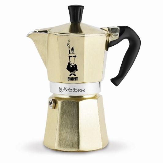 Bialetti Moka Express Gold 6 Cup
