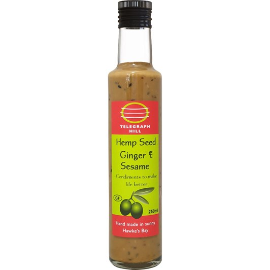 Telegraph Hill Hemp Seed Ginger Sesame Dressing And Dip 250ml