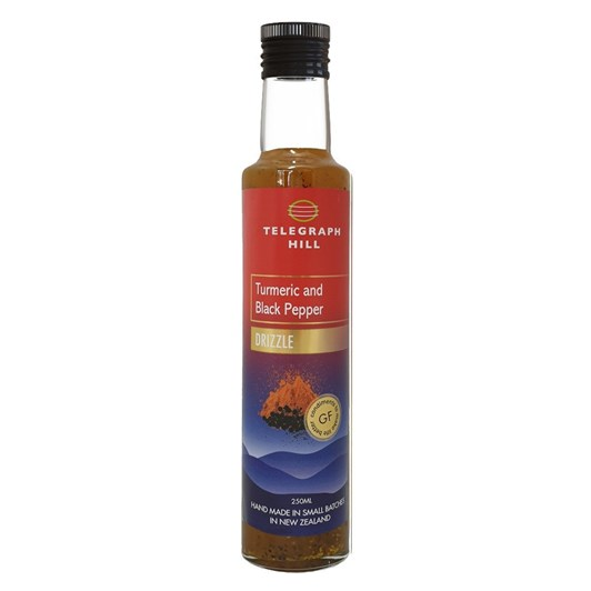 Telegraph Hill Turmeric And Black Pepper Drizzle 250ml