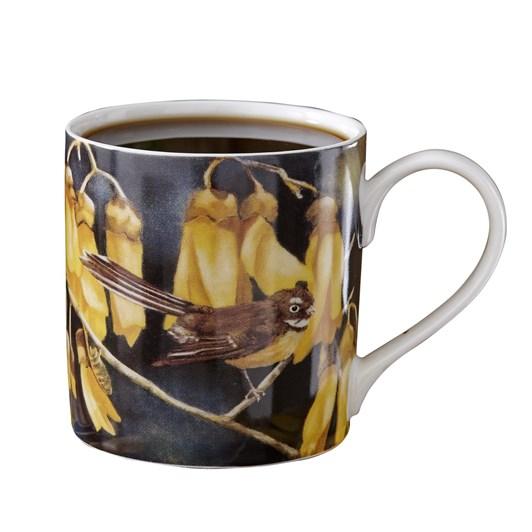 Ashdene NZ Bird & Flora Fantail City Mug