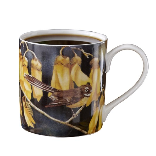 Ashdene NZ Bird & Flora Fantail City Mug