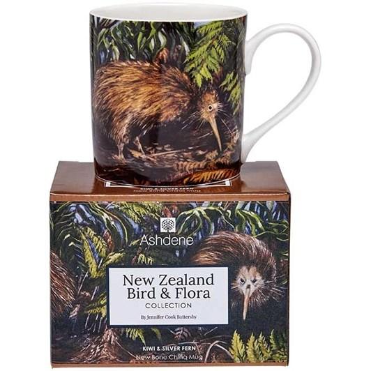 Ladelle NZ Bird & Flora Kiwi City Mug