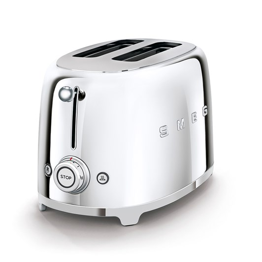 Smeg 2 Slice Toaster Stainless Steel