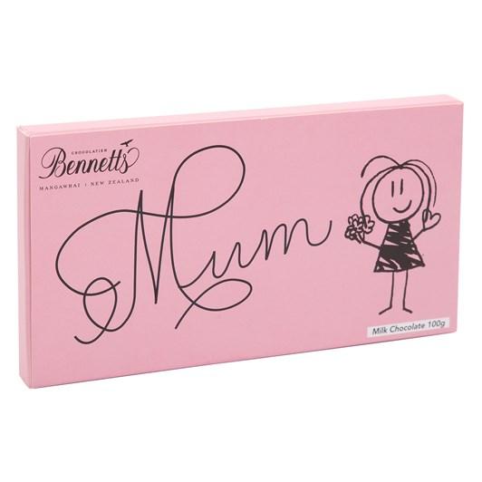 Bennetts Of Mangawhai Mum Message Milk Bar 100g