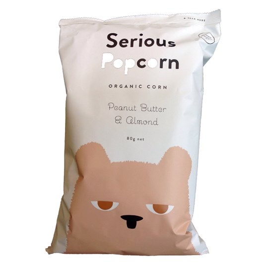 Serious Popcorn Peanut Butter & Almond - 80gm