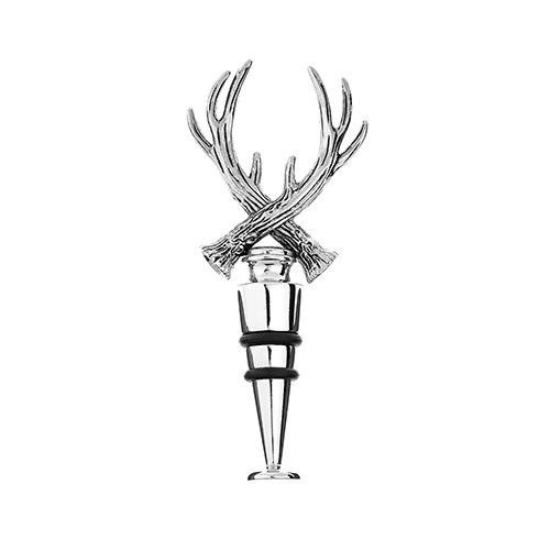 Orchid Bottle Stopper With Antlers