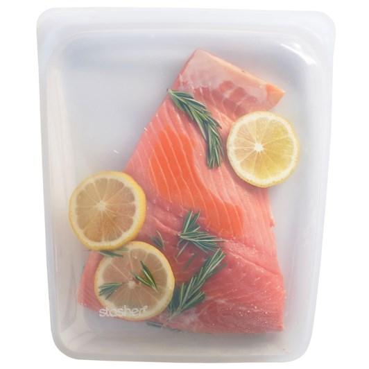 Stasher Half Gallon Bag Clear