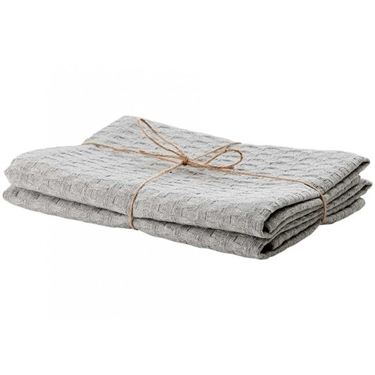 Ladelle Eco Recycled Kitchen Towels Pack Of 2