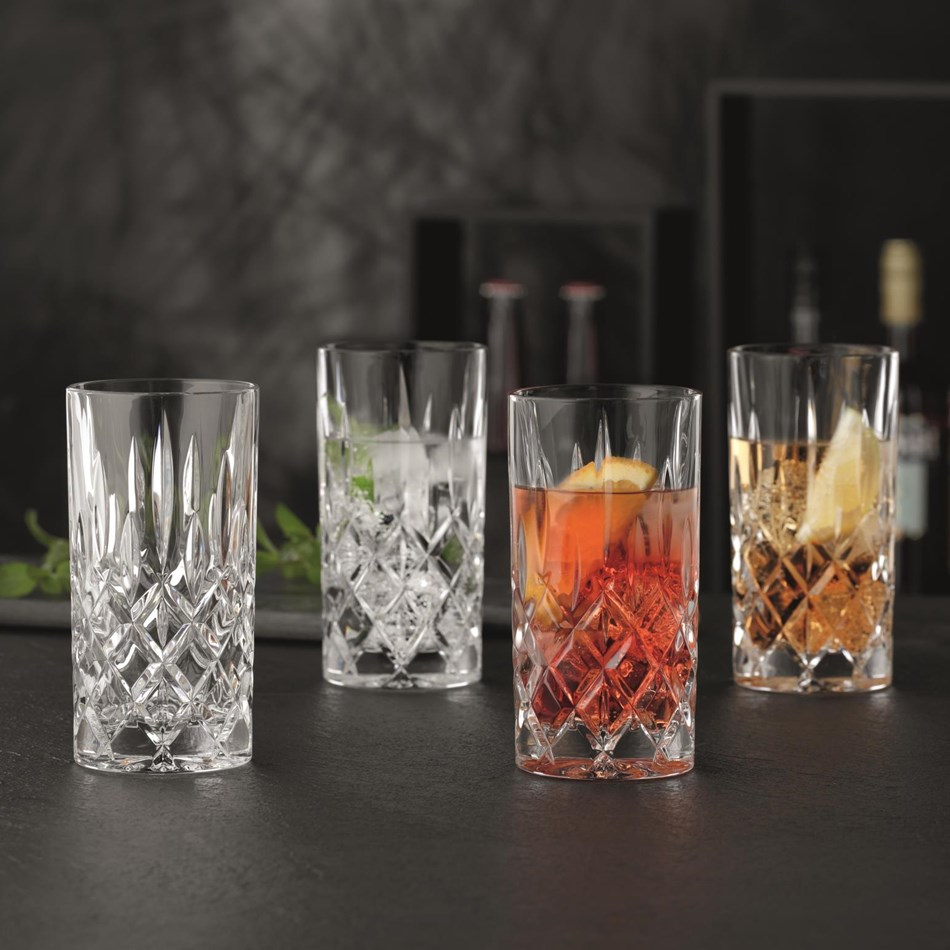 Nachtmann Noblesse Long Drink Set Of 4 - clear