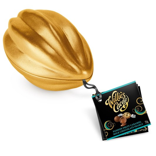 Willie's Cacao Mini Pod Choc & Passion Caramel 75g