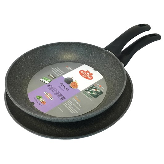 Ballarini Ferrara Set Of 2 Frying Pans - 24cm, 28cm