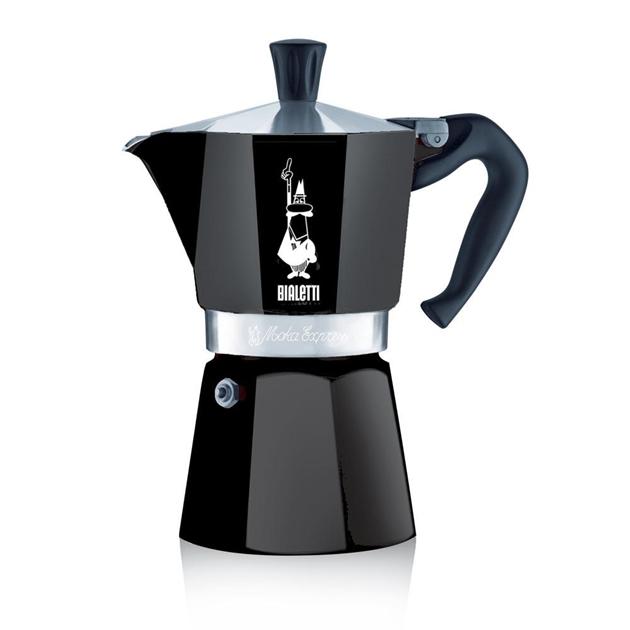 Bialetti Moka Express Black 6 Cup -