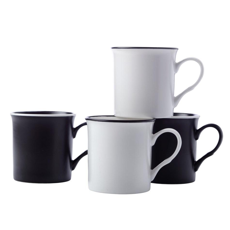 Maxwell & Williams Manhattan Mug 310ml Set Of 4 Gift Boxed -