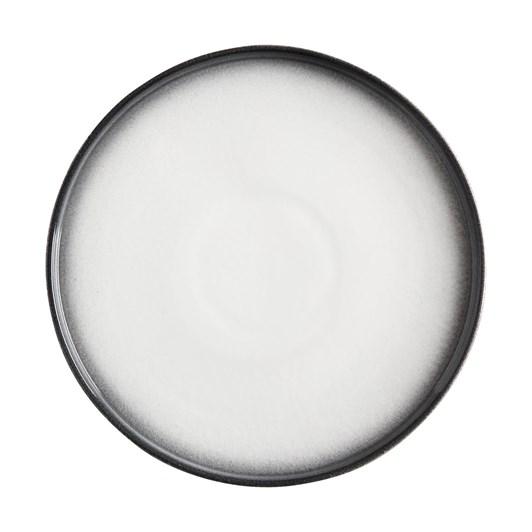 Maxwell & Williams Caviar Granite High Rim Plate 26.5cm