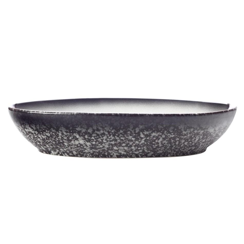 Maxwell & Williams Caviar Granite Oval Bowl 25x17cm -