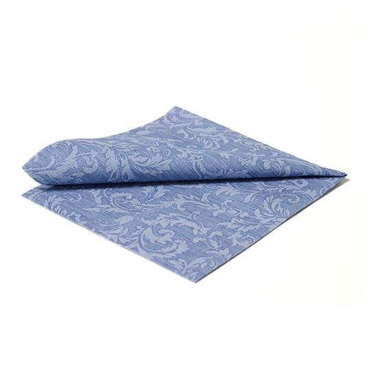 Floral Dinner Napkin Blue