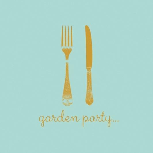 Napkin Garden Party