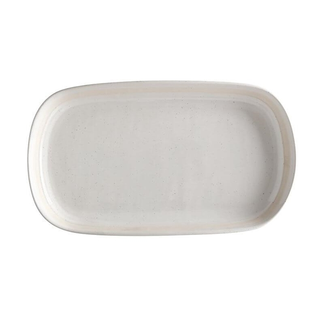 Maxwell & Williams Vanilla Pod Oblong Platter 34x19cm Gift Boxed -
