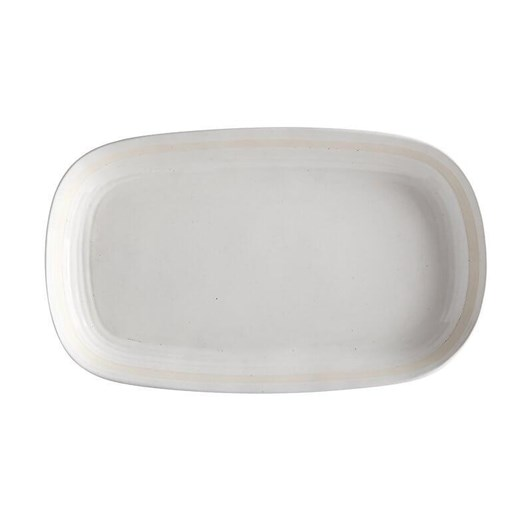 Maxwell & Williams Vanilla Pod Oblong Platter 40x24cm Gift Boxed