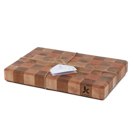 Lynch Wood Creations End Grain Large Chequers Board