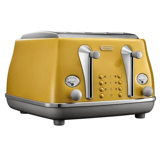 DeLonghi Icona Capitals Four Slice Toaster