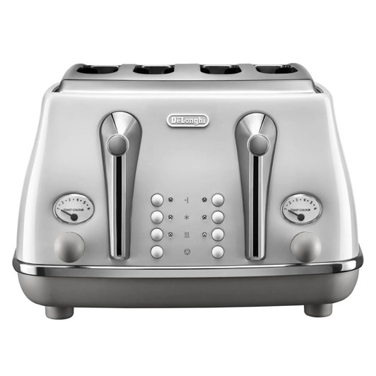 DeLonghi Icona Capitals Four Slice Toaster