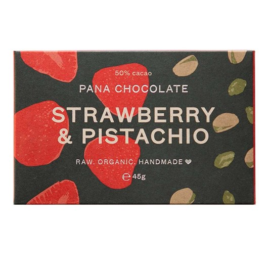 Pana Bar Strawberry & Pistachio 45g