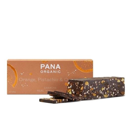 Pana Ganache Orange Pistachio & Quinoa 80g