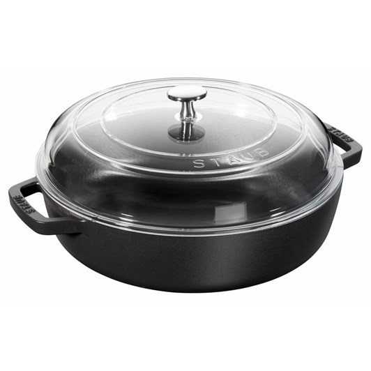Staub Cocotte/Braiser Glass With Lid 29cm