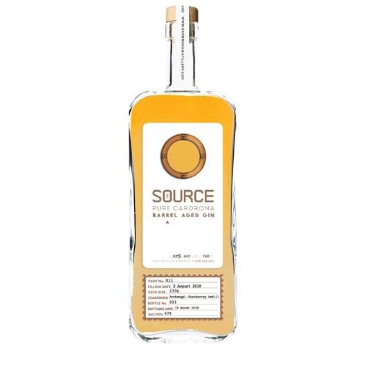 The Source Barrel Aged Chardonnay Gin 750ml