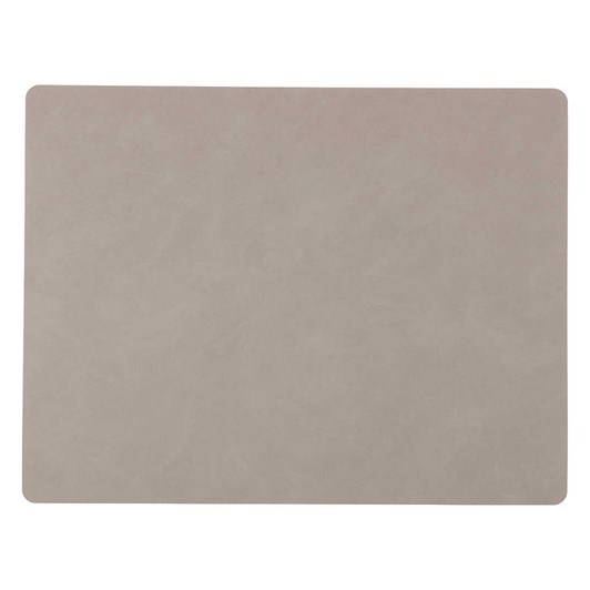 LIND DNA Table Mat Square L (35X45Cm) Nupo Light Grey