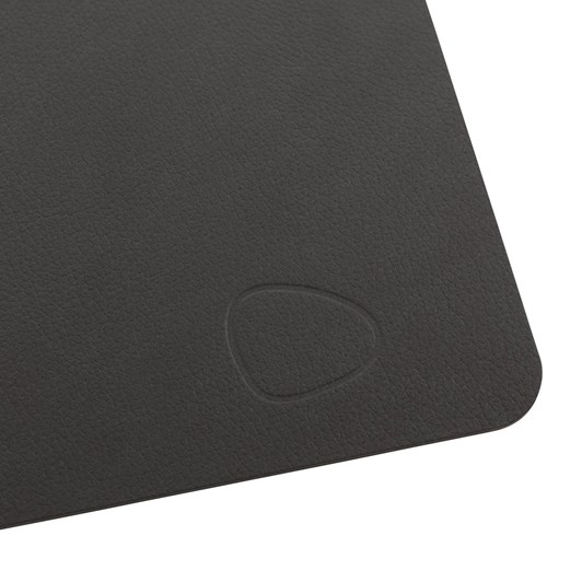 LIND DNA Table Mat Square L (35X45Cm) Nupo Black