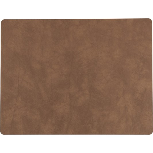 LIND DNA Table Mat Square L (35X45Cm) Nupo Nature