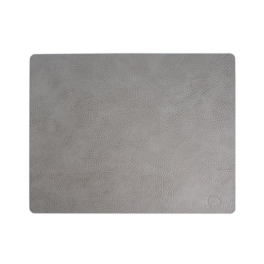 LIND DNA Table Mat Square L (35X45Cm) Hippo Anthracite Grey