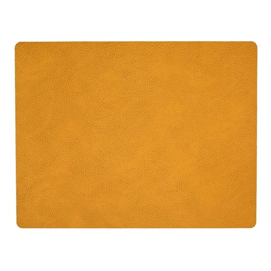 LIND DNA Table Mat Square L (35X45Cm) Hippo Curry