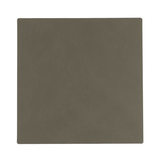LIND DNA Glass Mat Square (10X10Cm) Nupo Olive Green
