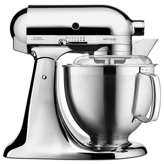 KitchenAid KSM177 Metallic Chrome Stand Mixer