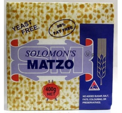 Solomons Matzos 400g
