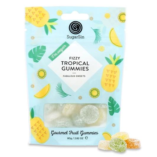 Sugar Sin Tropical Gummies 80g