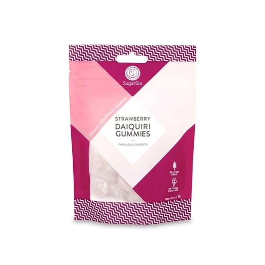 Sugar Sin Strawberry Daiquiri Gummies 100g