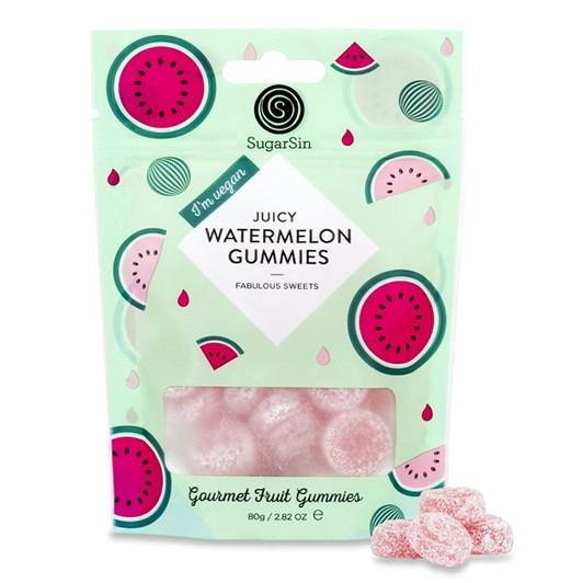Sugar Sin Watermelon Gummies 80g