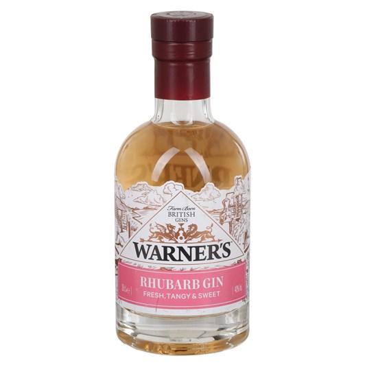 Warner's Rhubarb Gin 200ml