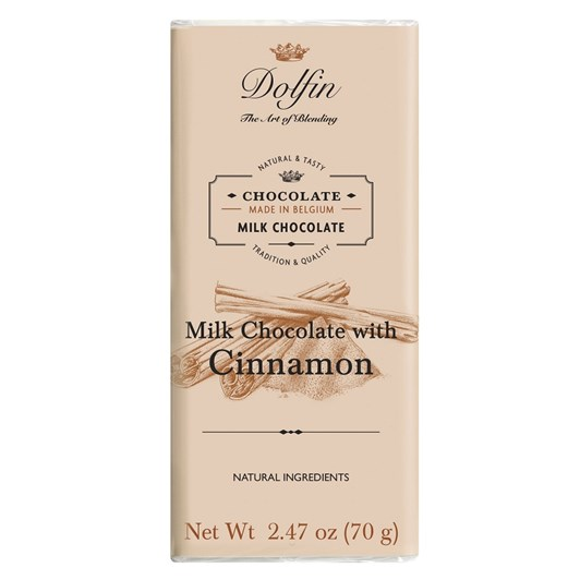 Dolfin Milk With Cinnamon 70g