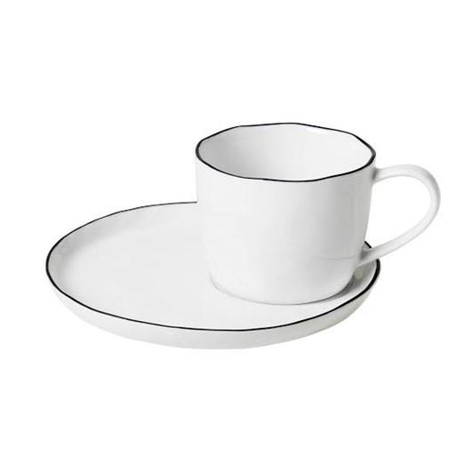 Broste Salt Cup & Saucer Large