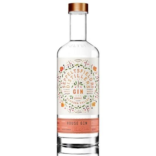 Seppeltsfield Rd Distillers Small Batch House Gin 500ml