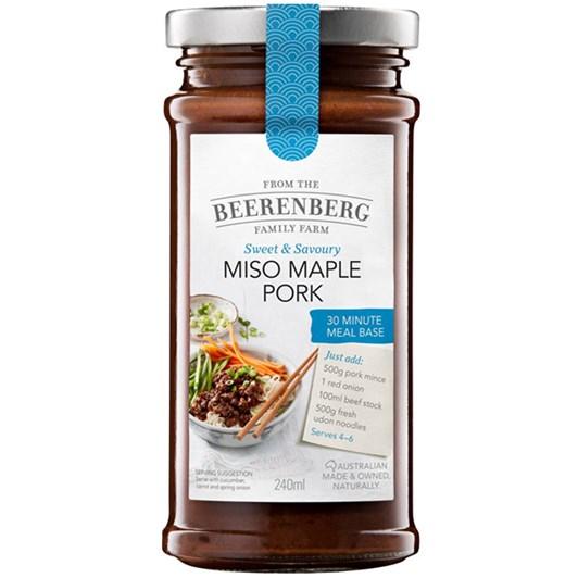 Beerenberg Miso Maple Pork - 240ml