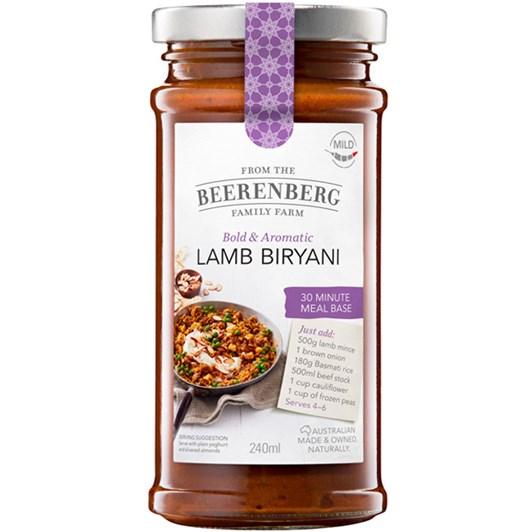 Beerenberg Lamb Biryani - 240ml