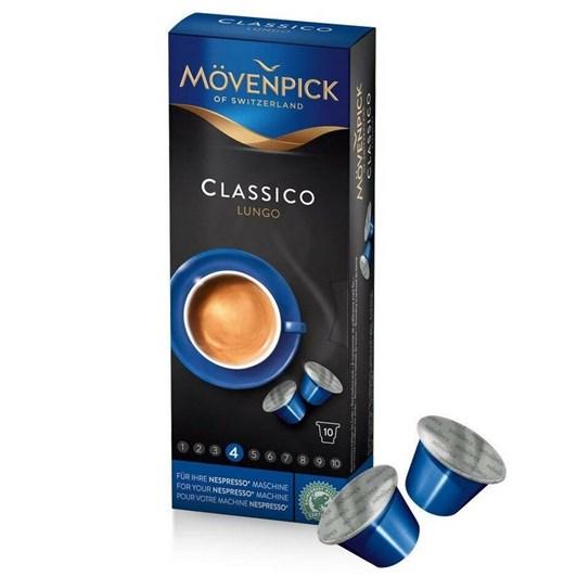 Movenpick Classico Lungo 10 Coffee Capsules 58g