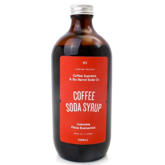 Six Barrel Soda Coffee 500ml
